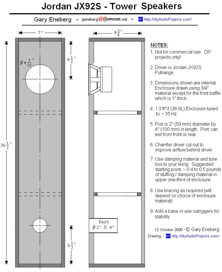 Build Bass Reflex Speaker Cabinet | memsaheb.net