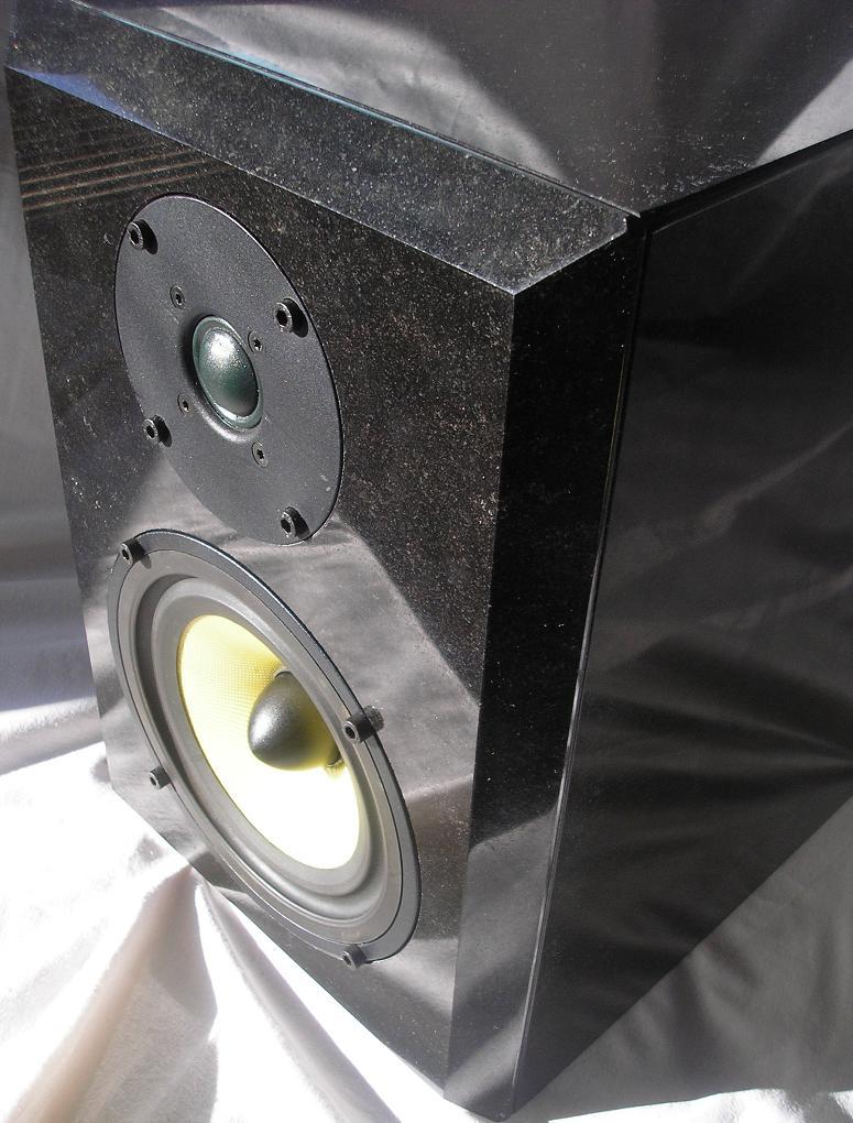 DIY Granite Speakers with Seas G17REX/P and 27 TFFC Drivers