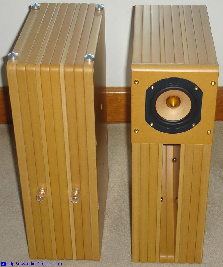 Tang Band D4-1 DIY Back Horn Speaker Kit