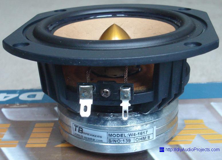 Tang Band D4 1 Diy Back Horn Speaker Kit