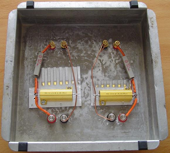 DIY Speaker / Amplifier Dummy Load on ohm speakers diagram, ohm wiring chart, 4 ohm to 2 ohm diagram, 2 4 ohm with 2 channel amp diagram,
