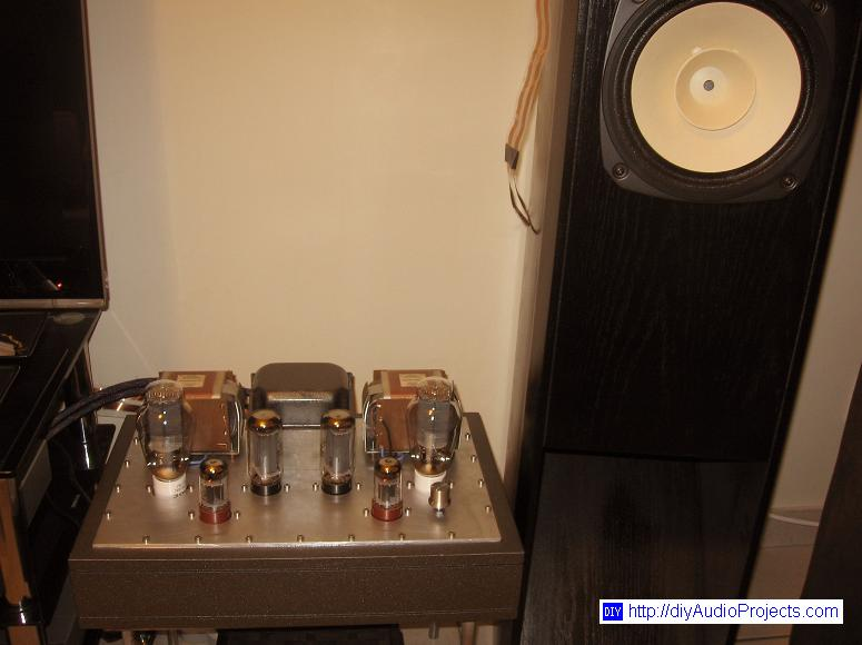 DIY 300B Single-Ended-Triode (SET) Hi-Fi Amplifier Project