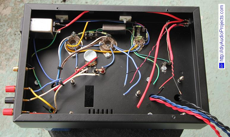 OddWatt Audio 5751 SRPP / KT88 Push-Pull Monoblock Tube Amplifier Kits