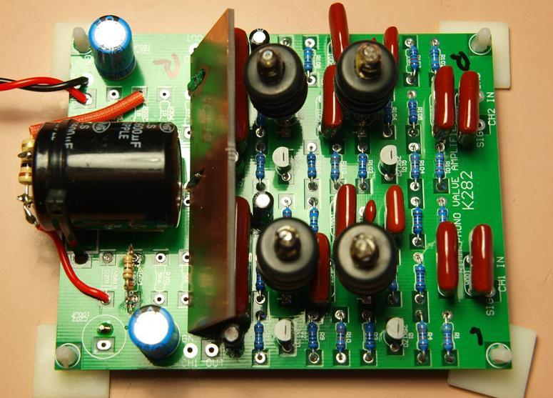 6418 Tube RIAA Phono Preamplifier Kit (Oatley Electronics K282)