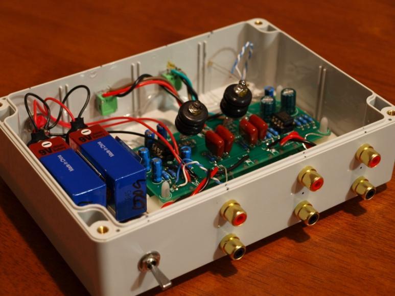 oatley k272 jan 6418 valve tube preamplifier headphone amp kit. Black Bedroom Furniture Sets. Home Design Ideas
