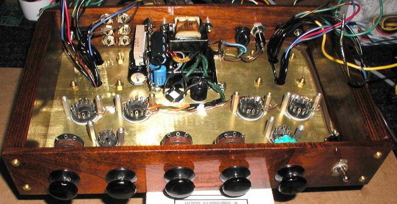 Tube Stereo Power Amplifier Circuit Diagram Amplifiercircuit