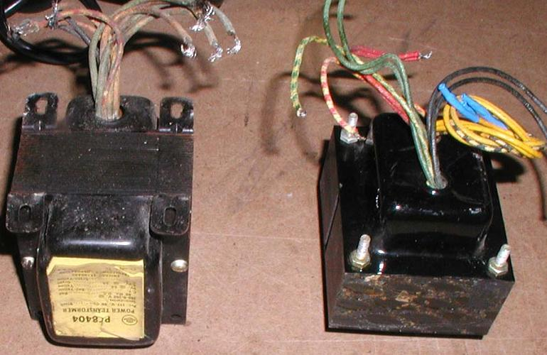 Tube-Amp-Transformers  V Power Supply Schematic on