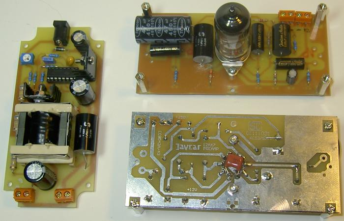 12AX7 Tube Preamplifier Kit -