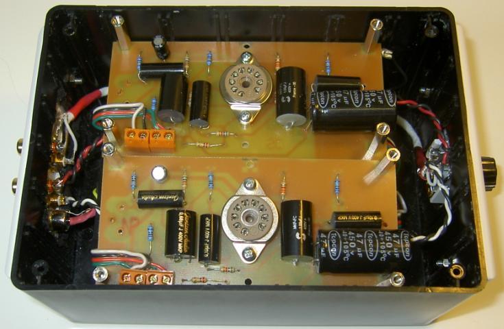 12AX7 Tube Preamplifier Kit -