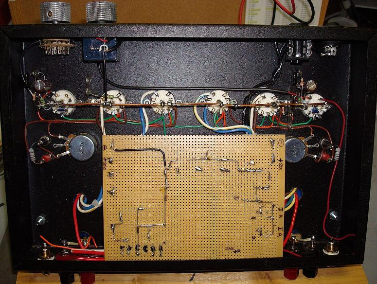 Tube Lifier Schematics On Vacuum Tube Audio Amplifier Circuit