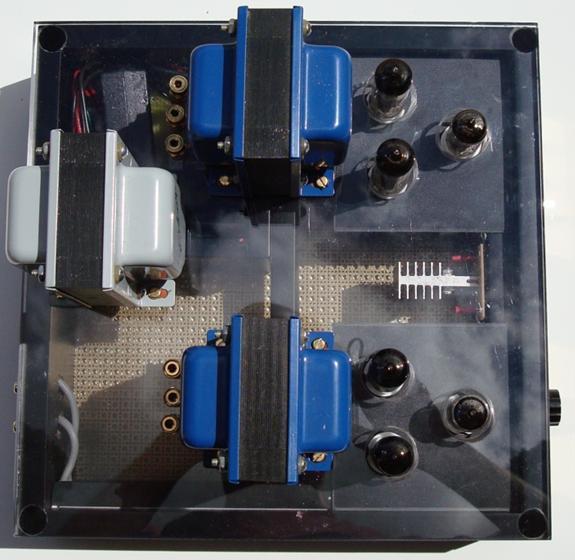 diy ecc802s srpp el84 6bq5 push pull tube amplifier. Black Bedroom Furniture Sets. Home Design Ideas