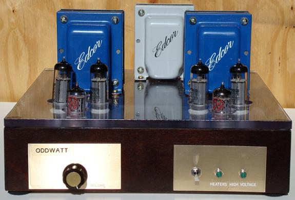 DIY ECC802S SRPP / EL84 (6BQ5) Push-Pull Tube Amplifier