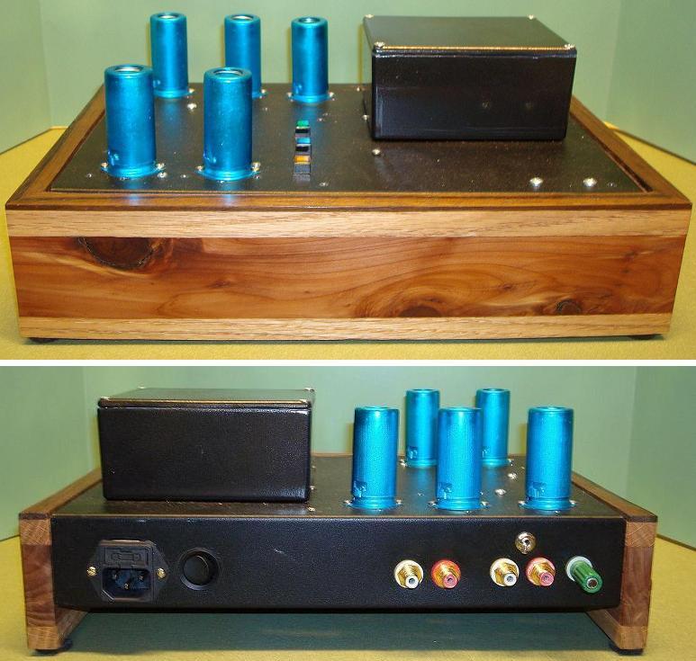 Groovewatt a DIY Vacuum Tube (Valve) RIAA Phono Preamplifier